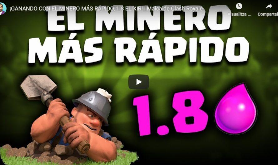 Mazo Clash Royale con minero