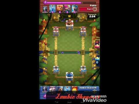 El mago que salvo la partida: Clash royale, sin comentar