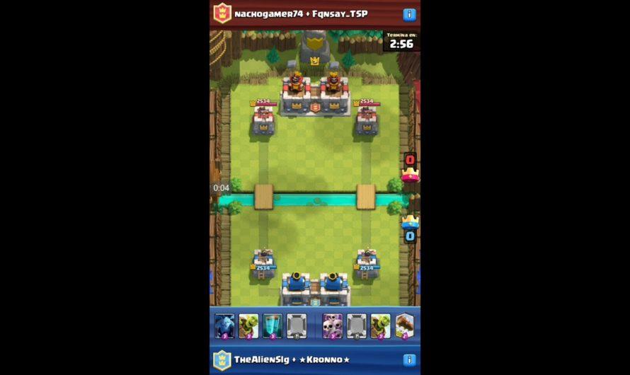 La partida mas rápida de Clash Royale (35 segundos)