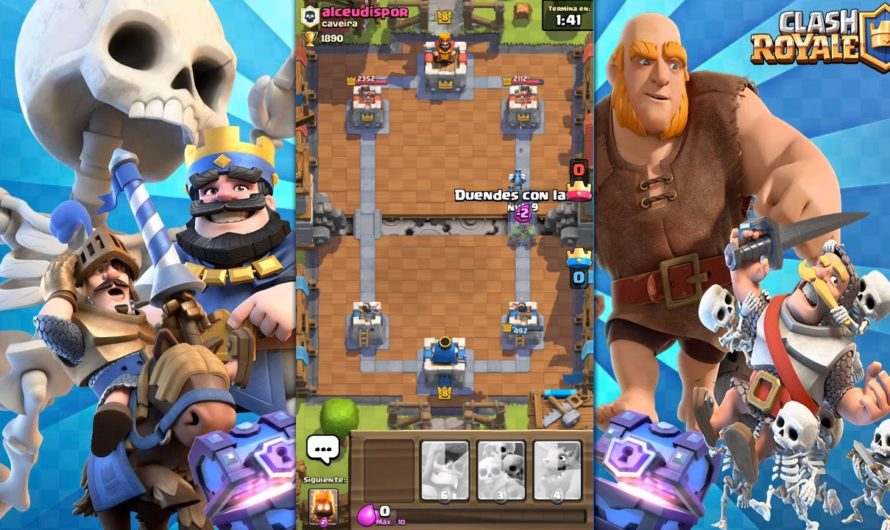 CLASH ROYALE mazo de cartas 17 partidas SIN PERDER  y batalla con final epico