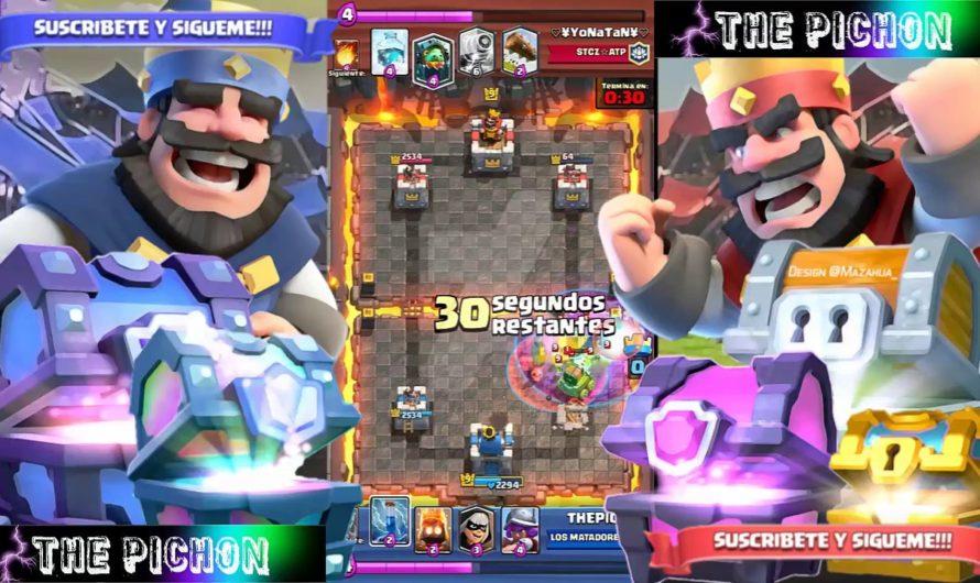 Mi partida mas épica de clash royale – desafió de la bandida