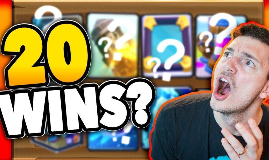 20 WIN CHALLENGE – Let's Go! (Clash Royale Nickatnyte)