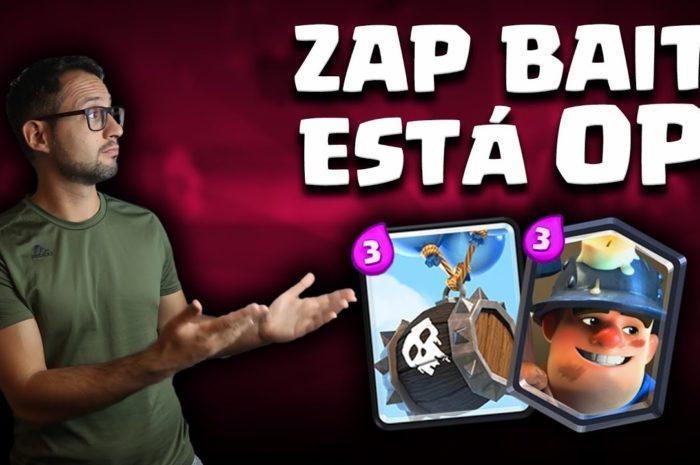 ¡EL ZAP BAIT CON BARRIL DE ESQUELETOS ESTA OP!   Malcaide Clash Royale
