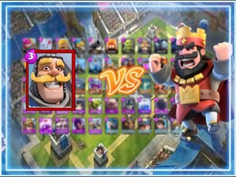 Caballero vs. Todas las Cartas – Clash Royale