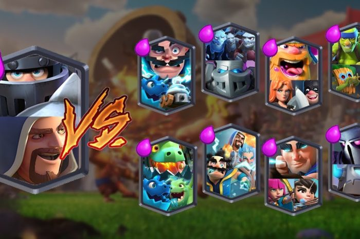 Megacaballero  / Mago – CLASH ROYALE TEAM CHALLENGE