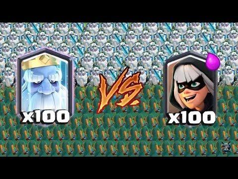 Fantasma vs bandida clash royale