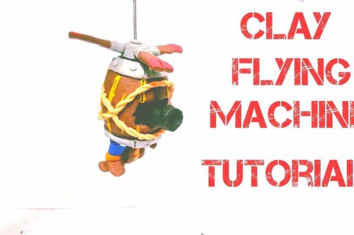 COMO HACER LA MÁQUINA VOLADORA/ HOW TO MAKE FLYING MACHINE!! CLASH ROYALE