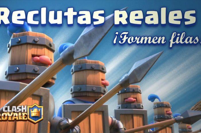 Clash Royale en Español: ¡Reclutas Reales! (¡Nueva Carta!)