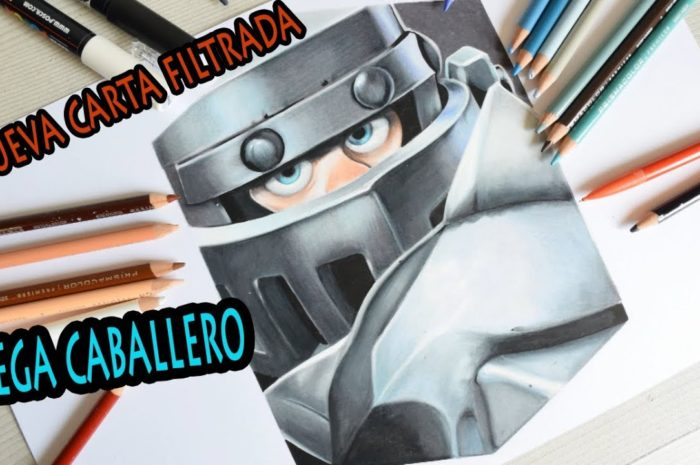 Cómo DIBUJO al MEGA CABALLERO de CLASH ROYALE | How to DRAW MEGA KNIGHT | Draw Up!