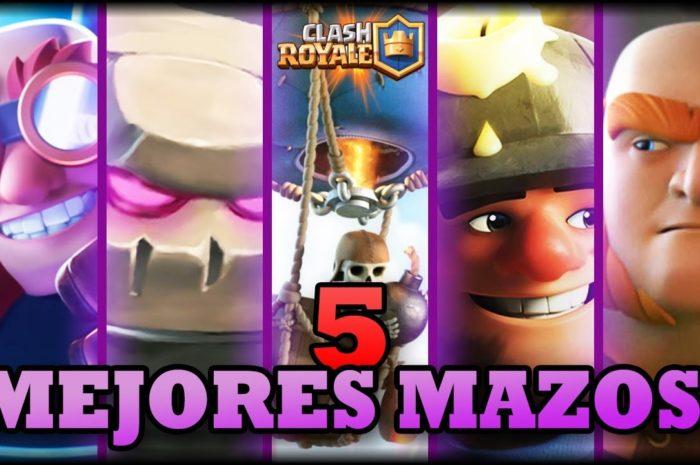 LOS 5 MEJORES MAZOS DE LA NO ACTUALIZACIÓN – Clash Royale – WithZack