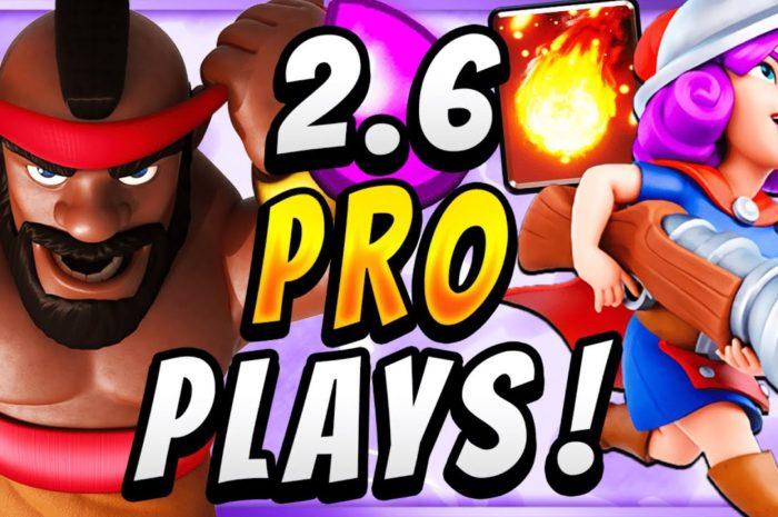 SAFE & STRONG HOG CYCLE! PRO PLAYS w/ 2.6 HOG RIDER DECK! — Clash Royale