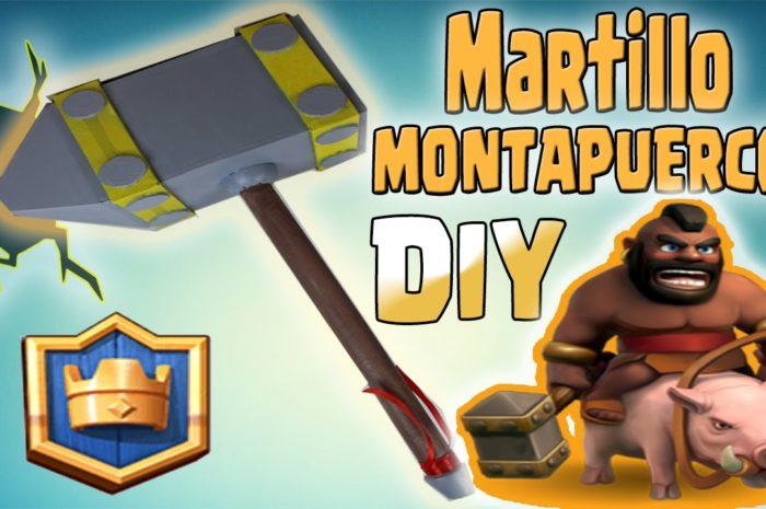 MARTILLO MONTAPUERCOS DE CARTÓN! DIY CLASH ROYALE – Dcrafting
