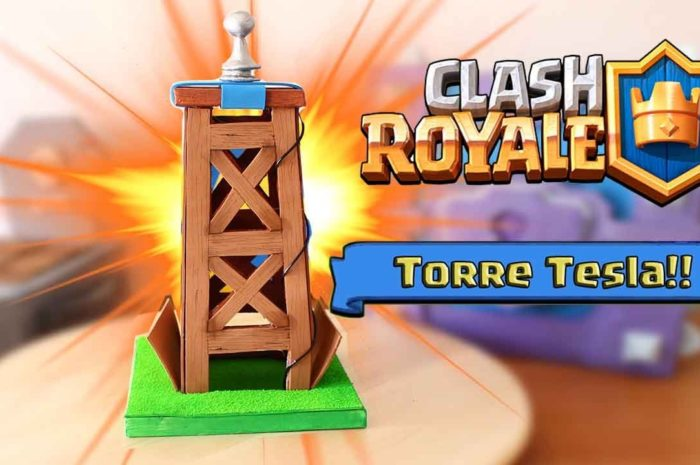 HAZ TU TORRE TESLA DE CLASH ROYALE!! Dcrafting