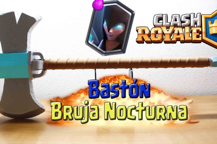 BASTÓN DE LA BRUJA NOCTURNA EN LA VIDA REAL!! CLASH ROYALE – Dcrafting