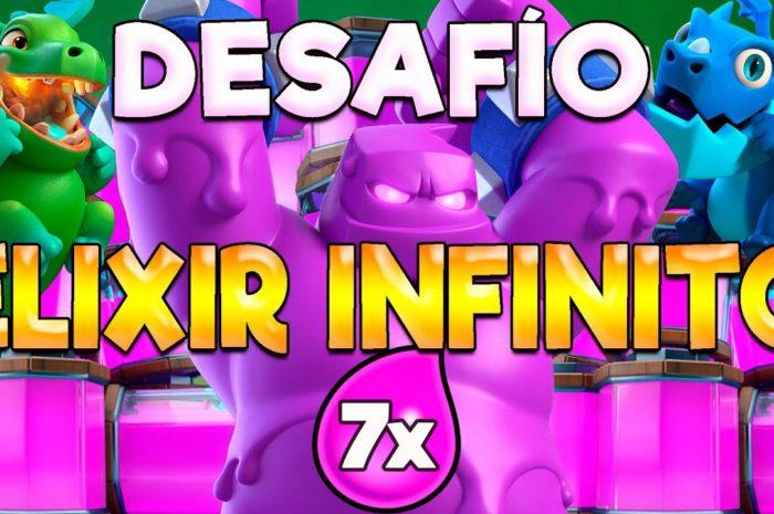 🔥DESAFÍO DE ELIXIR INFINITO DE LEGENDARAY