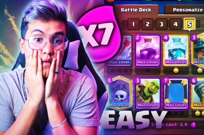LEGENDARY CHALLENGE ¡¡ELIXIR X7!!
